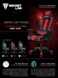 Secretlab Throne Aftershock Red Edition