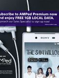 Singtel AMPed promo