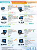 Acer Prime & Value Series Notebooks