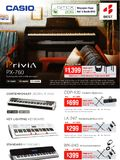 Casio keyboards - page 1
