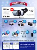 Samsung Gear VR + Audio accessories