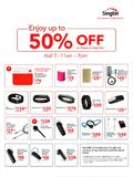 Singtel Accessories Deals - Pg 1
