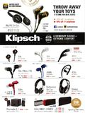 Klipsch audio gear