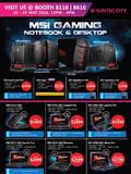 MSI Gaming Notebooks & Desktops