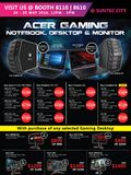 Acer Gaming Notebooks, Desktops, Monitors