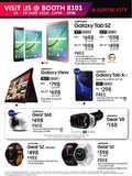 Samsung tablets and smartwatch
