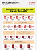Canon Consumables - Pg 2