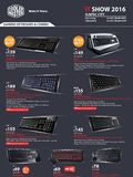 Cooler Master Gaming Keyboards - pg.2