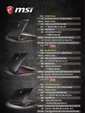 MSI Gaming Notebooks - Pg 3