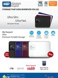 WD Portable HDDs