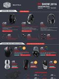 Cooler Master Gaming Headsets & Mice