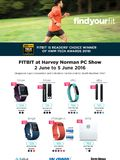Fitbit @ Harvey Norman