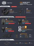 Cooler Master Gaming Mice / Headsets