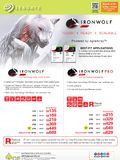 Seagate IronWolf NAS drives
