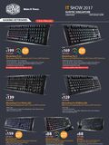 Cooler Master Keyboards