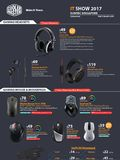 Cooler-Master Gaming Headsets & Mice