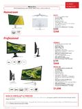 Acer Monitors - Pg 2