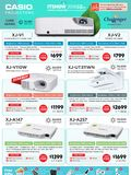 Casio Projectors - Pg 2