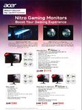 Acer Monitors - pg 1