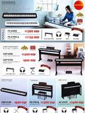 Casio - Digital Pianos - Pg 01