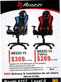 Arozzi gaming chair - page 1