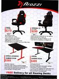 Arozzi gaming chair - page 2