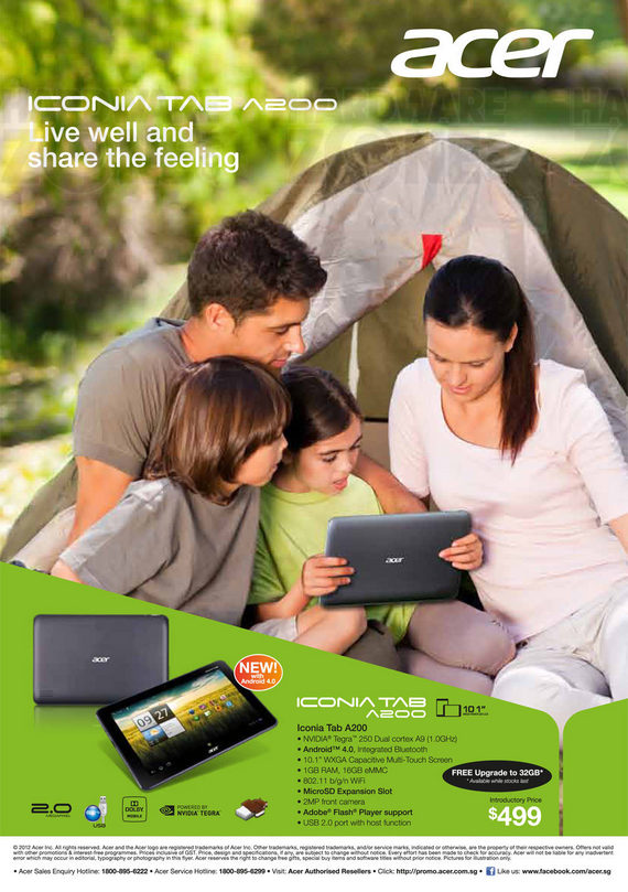 Acer Tablets - Page 1
