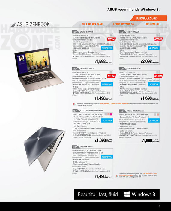 ASUS notebooks - Page 16