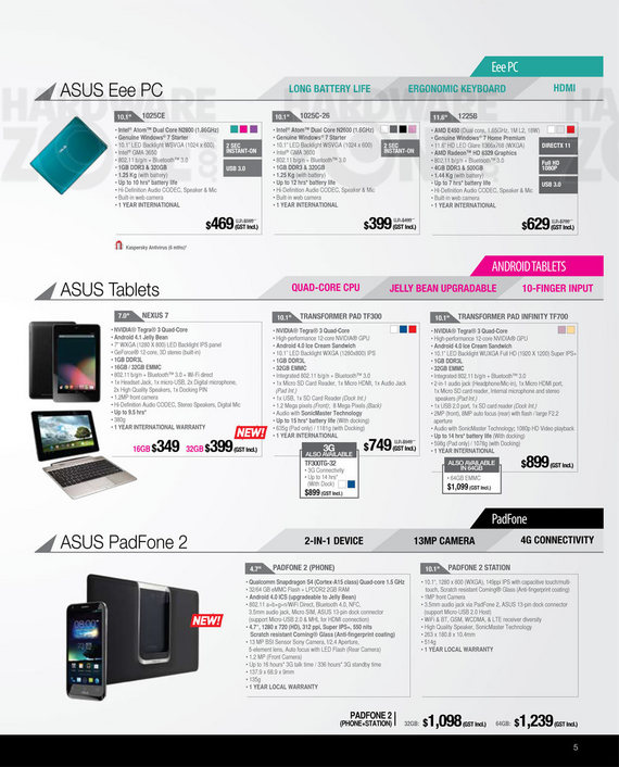 ASUS notebooks - Page 18