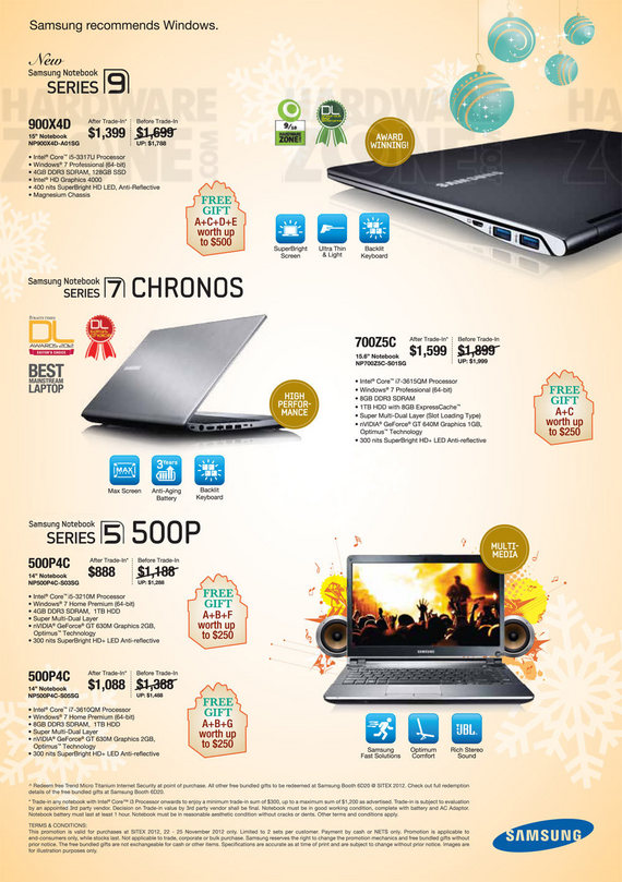 Samsung Notebooks - Page 2