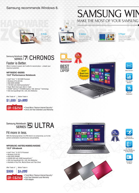 Samsung Notebooks - Page 5