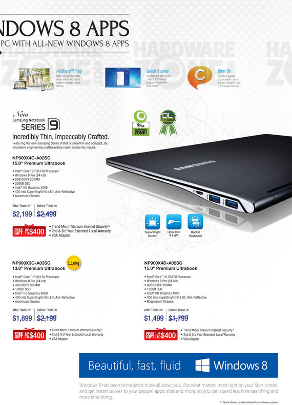 Samsung Notebooks - Page 6