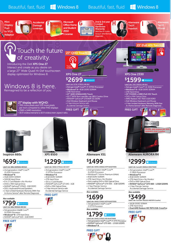 Dell Desktops - Page 1