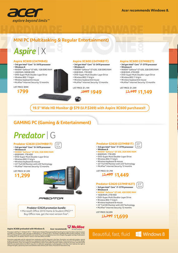 Acer desktop PC - page 2