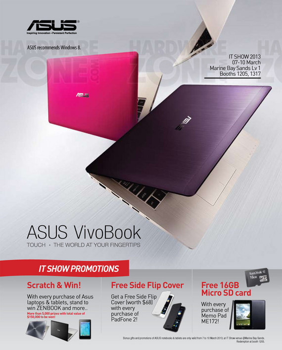 ASUS notebooks - page 1
