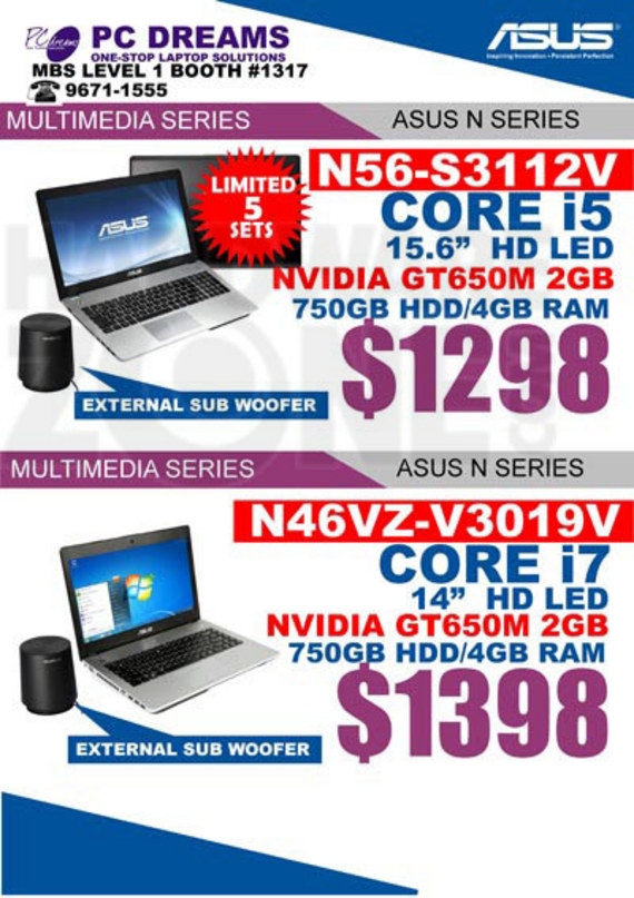ASUS N-series notebooks - page 3