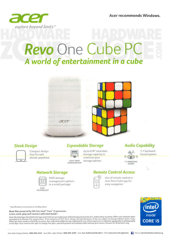 Acer Revo One Cube - Page 1