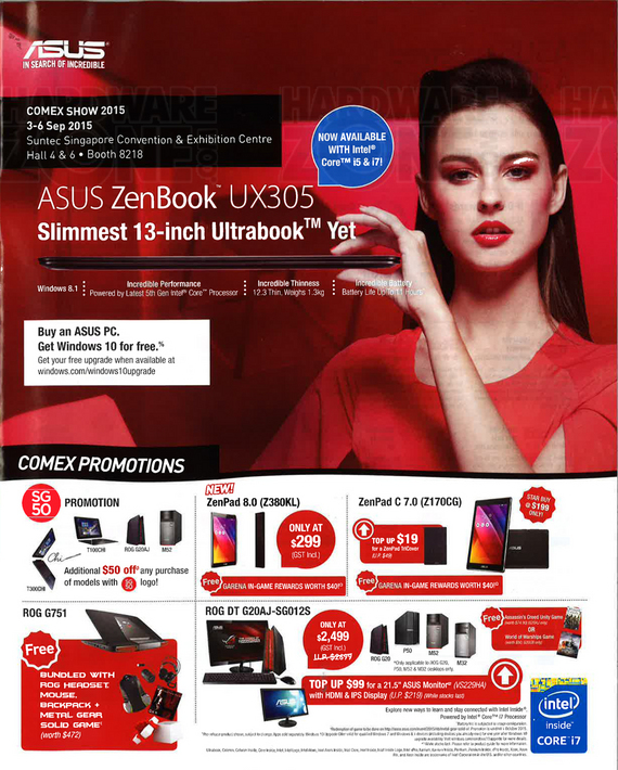 ASUS @ Comex highlights