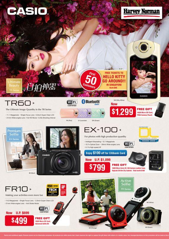 Casio Cameras - Pg 1