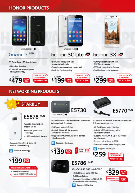 Huawei Honor & Networking
