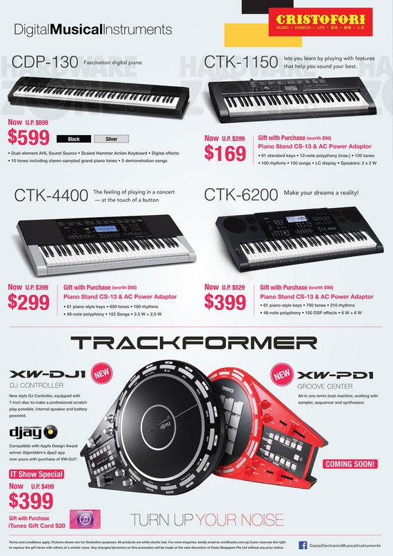 Casio Musical Instruments - Page 2