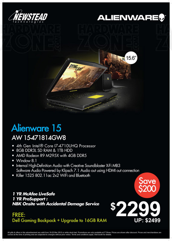 Alienware @ Newstead - Page 1
