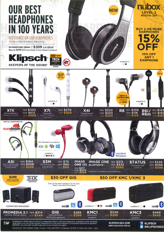 Klipsch @ Nubox