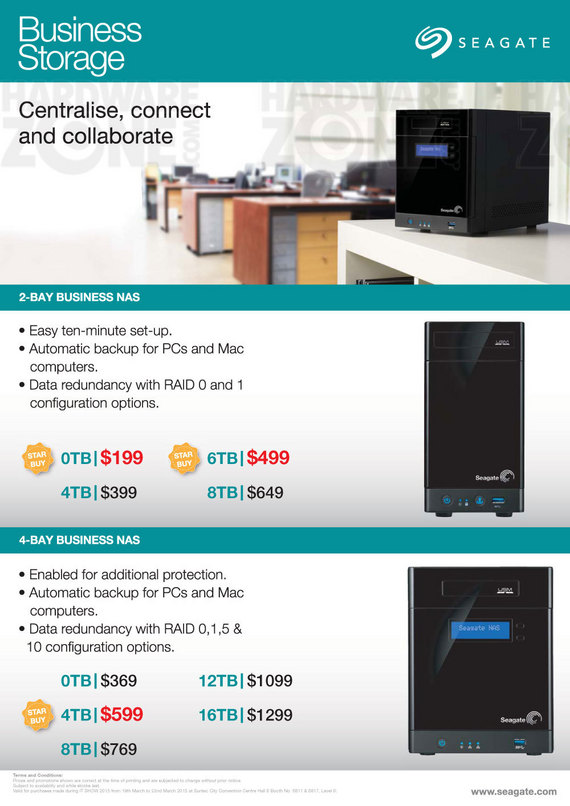 Seagate Business NAS - Page 1