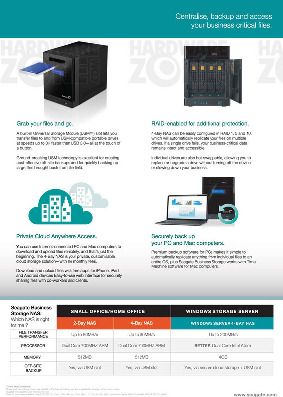 Seagate Business NAS - Page 2