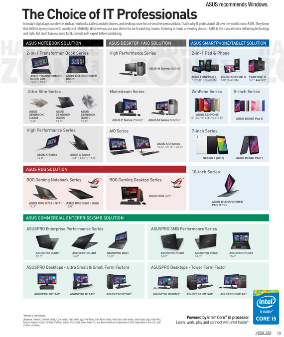 ASUS Solutions