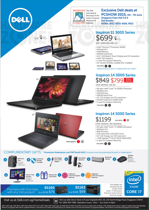 Dell Inspiron Notebooks - Page 1