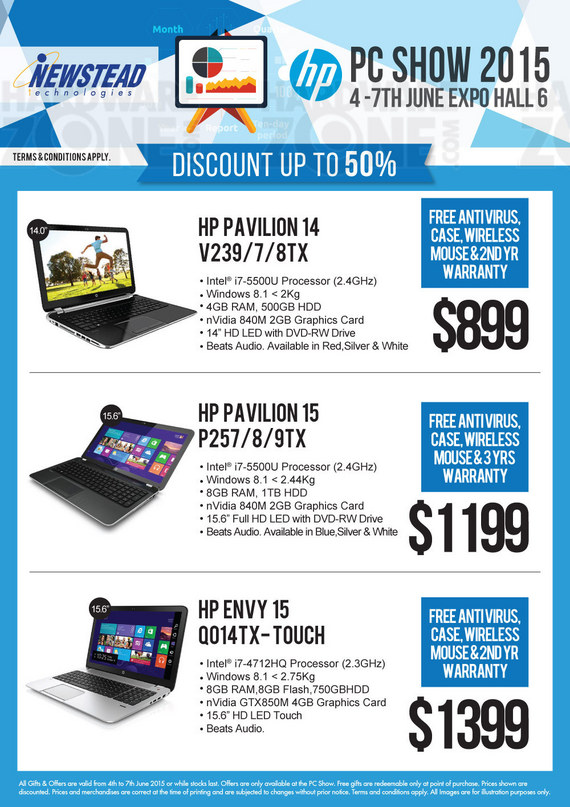 HP Notebooks at Newstead - Page 4