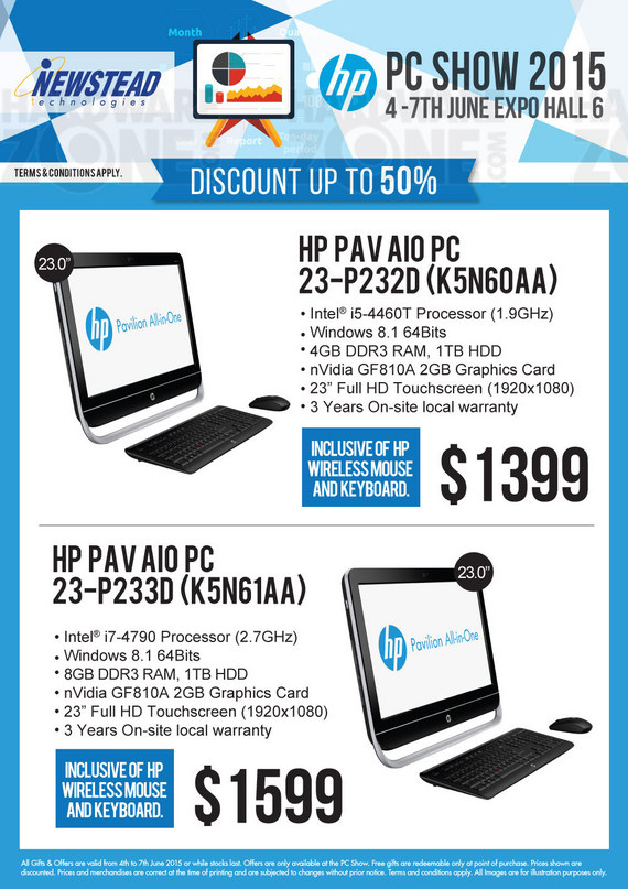 HP Desktops at Newstead - Page 6