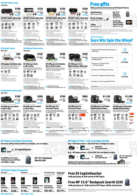 HP Printers & Supplies - Page 2